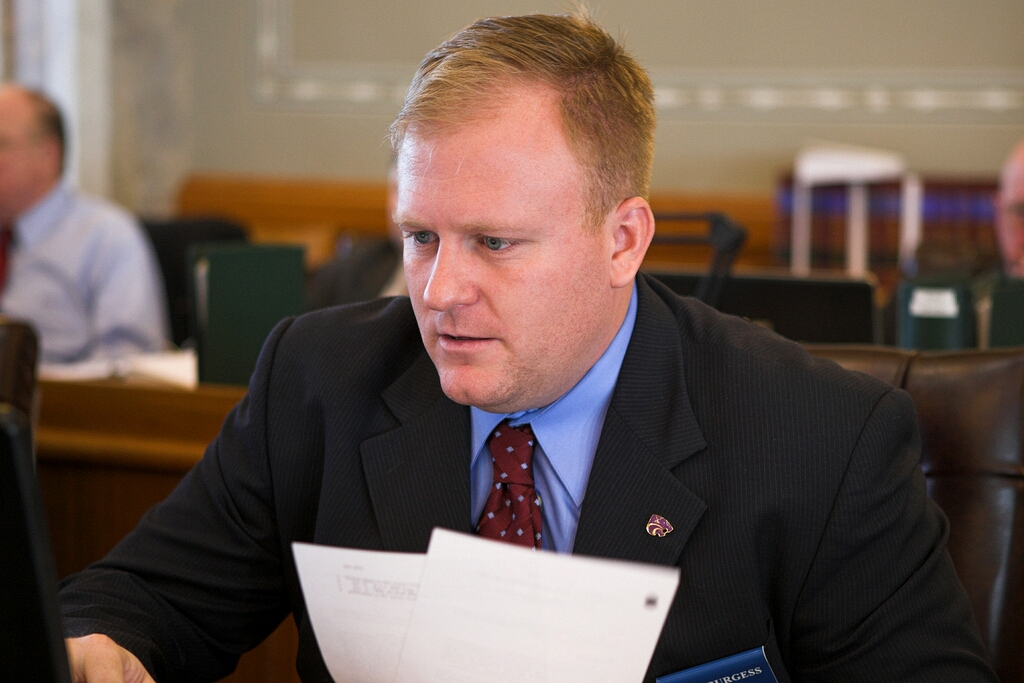 Representative Burgess Recognized for Perfect Attendance